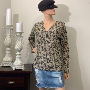 🌻3/20 Nine West gorgeous blouse like new
